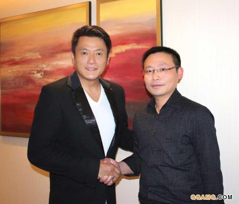 香港著名影星魏骏杰先生代言博科按摩器系列产品