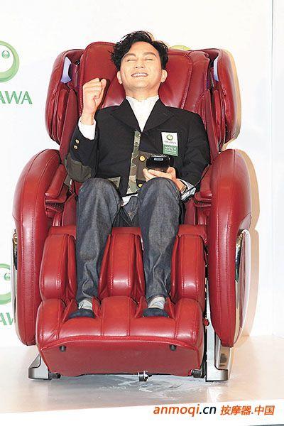 张智霖代言OGAWA按摩椅